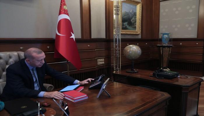 الرئاسة التركية تنشر فيديو للحظة إطلاق أردوغان عملية نبع السلام