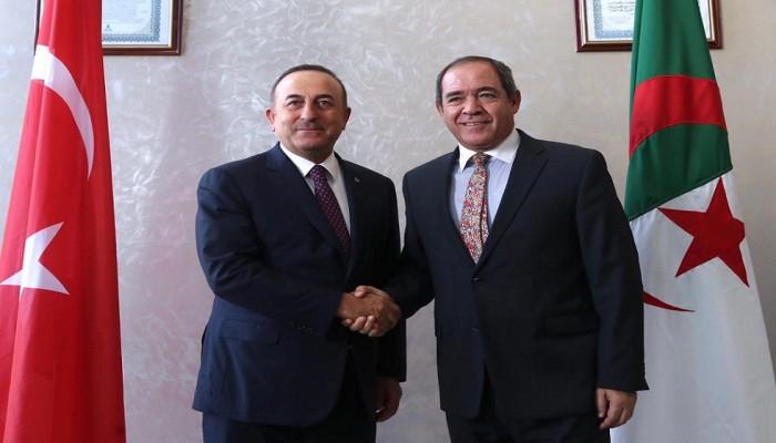 الجزائر تؤكد دعم تركيا لموقفها بشأن الأزمة في ليبيا