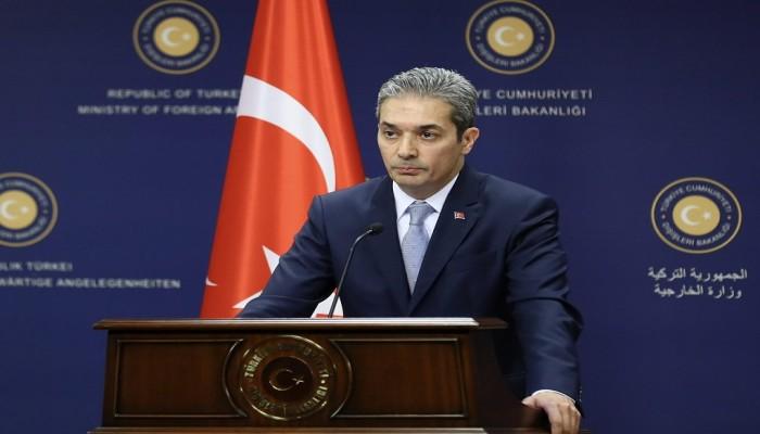 تركيا تطلع الأعضاء الدائمين بمجلس الأمن على نبع السلام