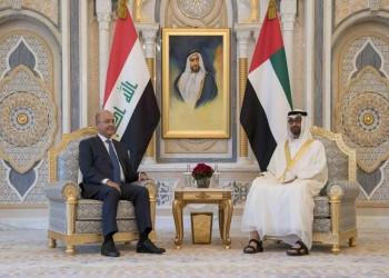 بن زايد ورئيس العراق يبحثان التطورات الأخيرة في المنطقة