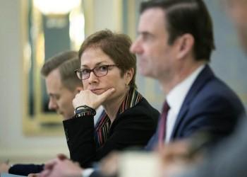 سفيرة واشنطن السابقة بأوكرانيا: ترامب ضغط لإقصائي من منصبي