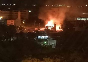 مصر.. اندلاع حريق داخل كنيسة مارجرجس جنوبي القاهرة