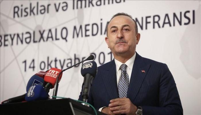 جاويش أوغلو: الرافضون لنبع السلام يريدون تقسيم سوريا لزعزعة استقرار تركيا