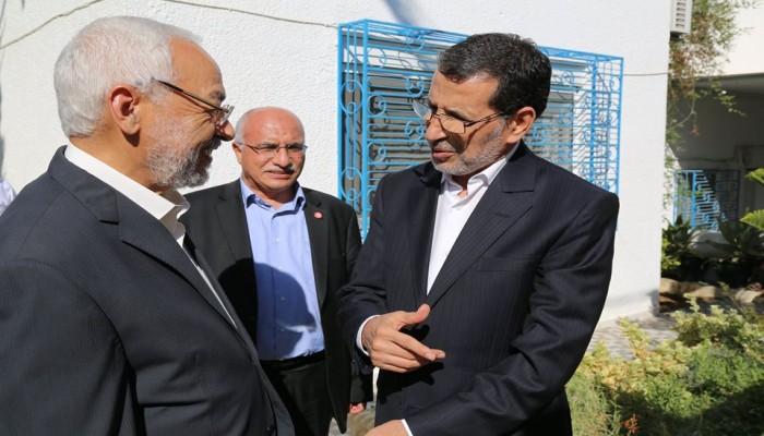 رئيس الوزراء المغربي يثني على انتخابات تونس ويهنئ الغنوشي