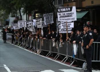 آلاف اليهود الأرثوذكس بنيويورك يحتجون على التجنيد الإلزامي بإسرائيل
