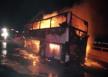 مقتل 35 وإصابة آخرين في حادث مروع بالمدينة المنورة