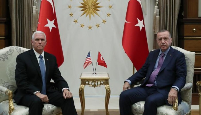 أنقرة وواشنطن: المنطقة الآمنة بسوريا تحت سيطرة القوات التركية