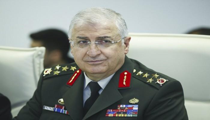 رئيسا أركان تركيا وأمريكا يبحثان الوضع الأمني بسوريا