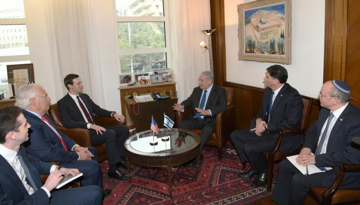 كوشنر يزور إسرائيل ويلتقي نتنياهو وغانتس