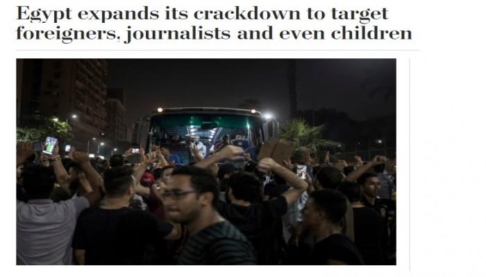 و.بوست: مقصلة القمع في مصر لا تستثني الأجانب ولا ترحم الأطفال