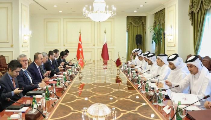 قطر: نعزز التعاون مع تركيا للوصول إلى مرحلة الشراكة الشاملة