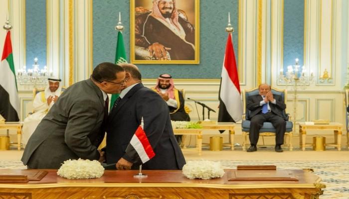 وزير يمني: اتفاق الرياض أعطى التحالف شرعية كاملة لإدارة البلاد