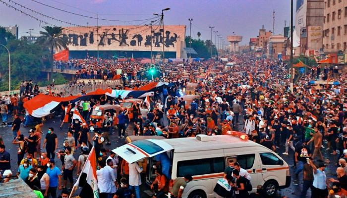 جوتيريش يعرب عن قلقه لارتفاع قتلى احتجاجات العراق