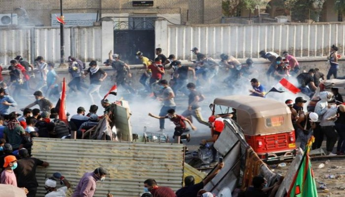ارتفاع عدد قتلى اعتصامات البصرة وأم قصر إلى 12 شخصا