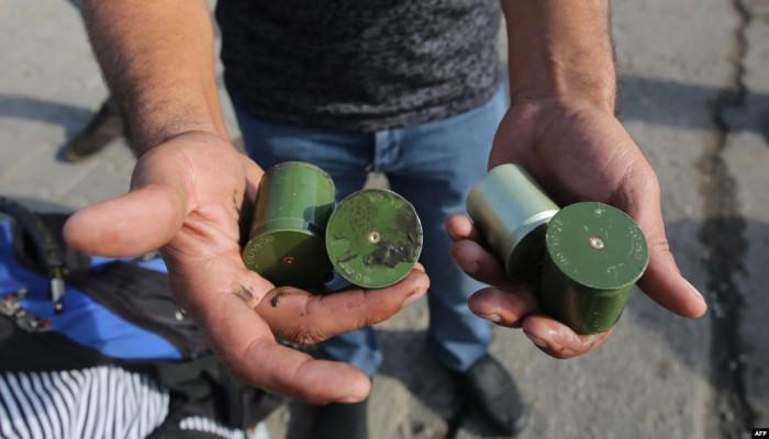 العراق ينفي استخدام قنابل من تركيا لقمع الاحتجاجات