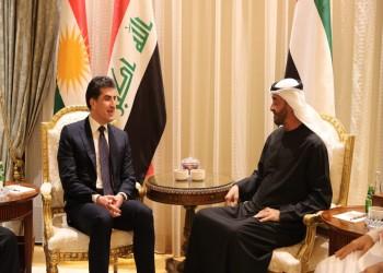 بن زايد يستقبل رئيس كردستان العراق بالإمارات.. ماذا ناقشا؟