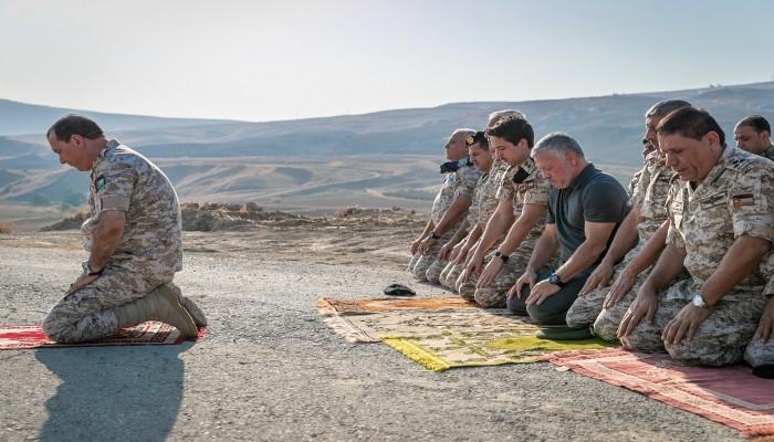 العاهل الأردني يزور الباقورة عقب استعادتها من إسرائيل