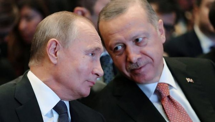 تقرير استخباراتي: روسيا تحركت لقصف قصر أردوغان عام 2015