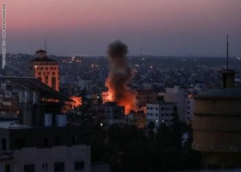 غزة.. جيش الاحتلال يعلن موجة واسعة من الضربات ضد حركة الجهاد
