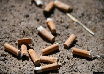 جوائز مغرية لمن يجمع أعقاب السجائر في مدينة تركية