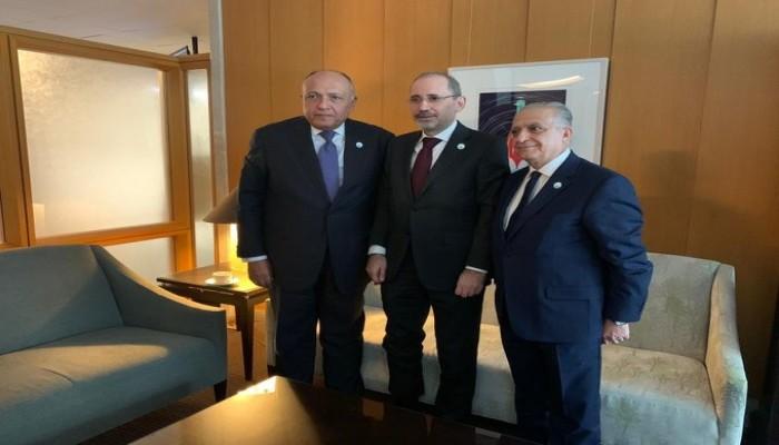 لقاء ثلاثي يجمع وزراء خارجية مصر والأردن والعراق