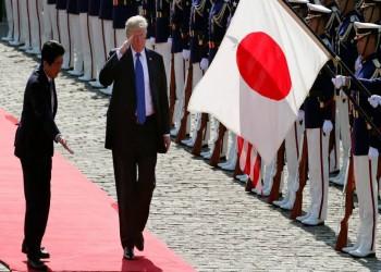 ترامب يطالب اليابان بأربعة أضعاف مدفوعاتها للقوات الأمريكية