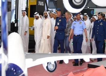 بن راشد وبن زايد يفتتحان معرض دبي للطيران 2019