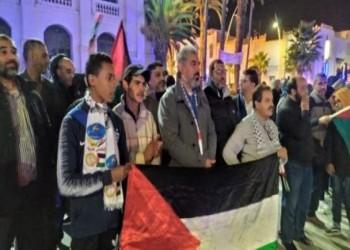 كيف تضامن متظاهرو بيروت مع أهالي غزة؟ (فيديو)