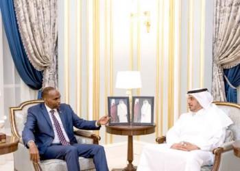 رئيس الوزراء القطري ونظيره الصومالي يبحثان تعزيز التعاون