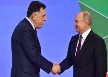 السراج يطالب موسكو بالتحقيق في مشاركة مقاتلين روس مع حفتر
