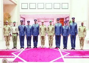 الحرس الوطني الكويتي يستقبل وفد قوة لخويا القطرية