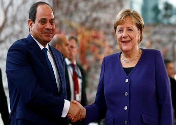 محادثات ثنائية بين ميركل والسيسي في برلين