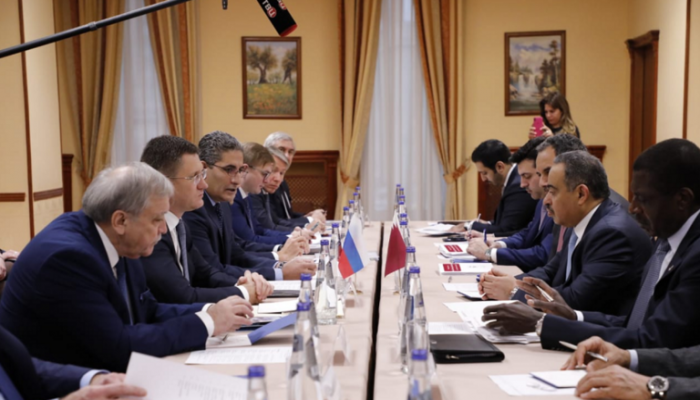 قطر وروسيا تدرسان مشاريع بقيمة 10 مليارات دولار