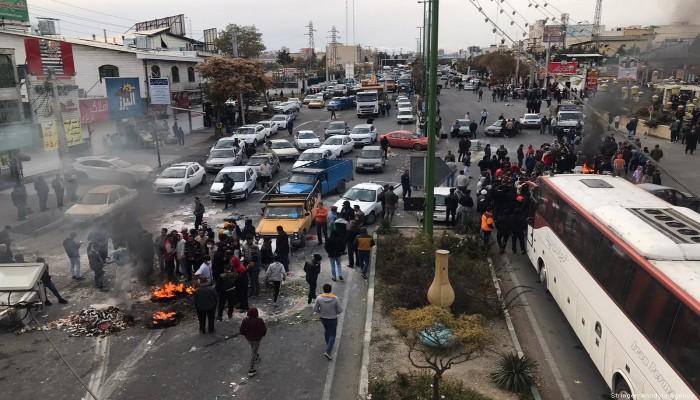 القضاء الإيراني يعلن عدد معتقلي قادة الاحتجاجات