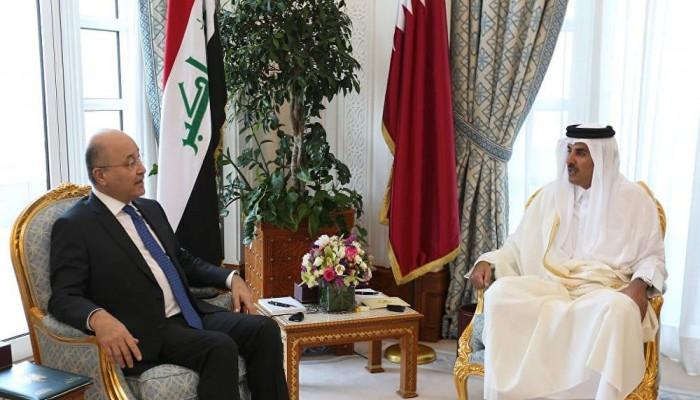 أمير قطر: ندعم العراق لتحقيق الإصلاح والاستقرار