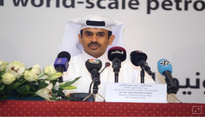 قطر: إنتاج الغاز المسال سيرتفع لـ126 مليون طن بحلول 2027