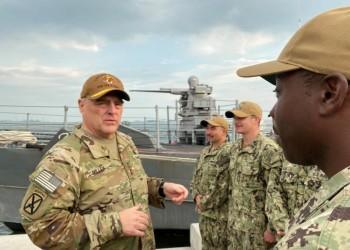 قائد الجيش الأمريكي يصل إلى العراق وسط احتجاجات ضد الحكومة