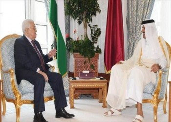 تميم وعباس يبحثان تطورات القضية الفلسطينية بالدوحة