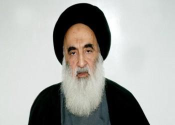 السيستاني يدين الهجمات على متظاهري العراق