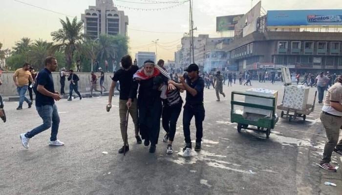 الداخلية العراقية: 4 قتلى و80 جريحا ضحايا إطلاق النار في بغداد