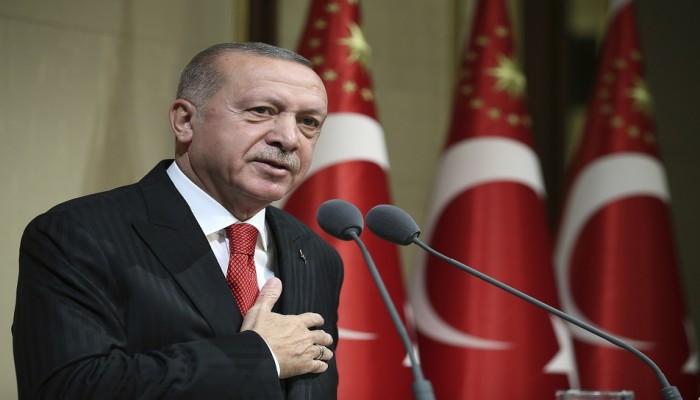 أردوغان: نقوم ببناء خط بحري رائع بين تركيا وليبيا