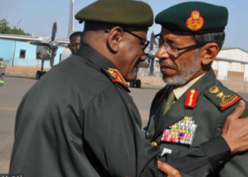 رئيس الأركان الإماراتي بالسودان إثر تخفيض قواته باليمن