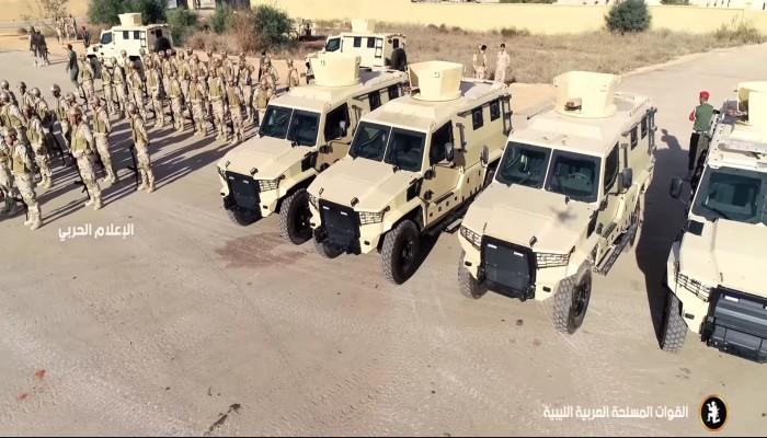 مدرعات مصرية الصنع بحوزة قوات حفتر (صورة)