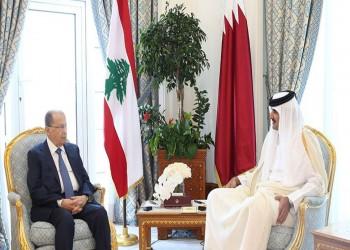 عون يدعو أمير قطر لزيارة لبنان