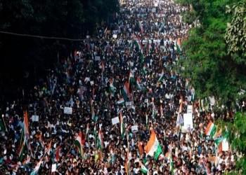 الحكومة الهندية تحاول إخفاء الاحتجاجات على قانون الجنسية