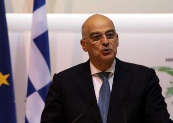 وزير الخارجية اليوناني يصل إلى بنغازي شرقي ليبيا
