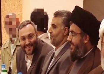 فيديو نادر لسليماني برفقة نصرالله وعماد مغنية