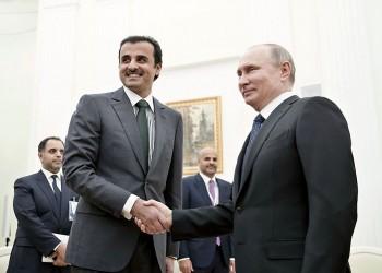 تميم وبوتين يتفقان على ضرورة تسوية الصراع في ليبيا