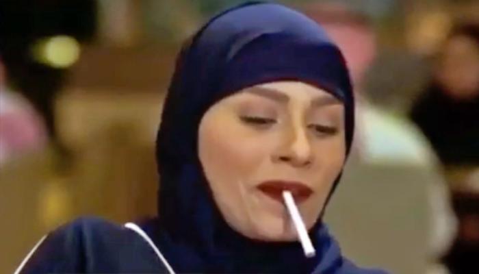 انتقادات واسعة لممثلة سعودية بسبب مشهد تقليد للرجال
