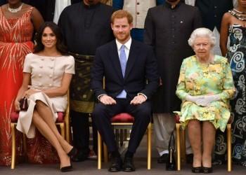 إليزابيث توافق على تخلي هاري وميجان عن مهامهما الملكية